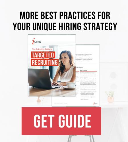 unique hiring strategies button